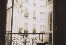 Balcony - wrought iron