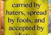 words of wisdon / by Amy Majcina