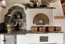 cob stove