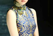 Qipao Chinese woman dress