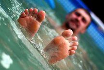 Hot tub exercise