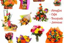 Arreglos florales / Las más hermosas flores para sus seres queridos en Colombia; pedidos desde cualquier parte del mundo.