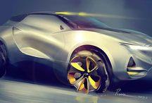 Automobile renders / Sketches, Renders,