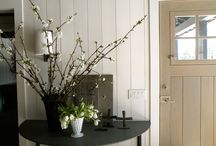"""Interiors~entries and hallways / """"An entryway is an introduction.  Like the opening pages of a book, it leads us in and welcomes us to the world inside.""""                ~Rose Tarlow~"""