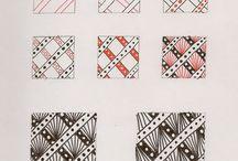Wzory zentangle