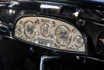 Vintage daschboard