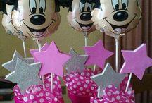 Enfeite De Centro Do Mickey