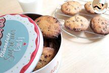 Cookies / De jolis biscuits bien croustillants à l'extérieur et fondants à l'intérieur :-P De la sucrée à la salée, de la classique à la sucrée, découvrez notre sélection de recettes de cookies !