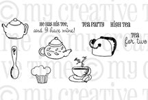 Tea Party / Inspiration for this stamp set! / by My Creative Time