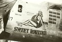 Art, Aircraft Fuselage Art / Fighting aircraft and their Nose - Fuselage Art.