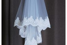 Romantic Wedding Bridal Veils Online Collection / Match a romantic lace, tulle bridal veil for your wedding dress!