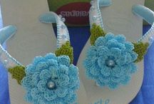 Chinelos decorados