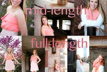 Photography - Seniors / Posing and shot ideas