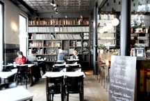 Shilling / Shilling is worth your attention for the huge library there is on the first floor as well as for the exceptional way they incorporated mirrors to the interior design. We found cosy leather sofas upstairs and colored tiles matching the walls to be adorable. http://www.urbanhypsteria.com/shilling/