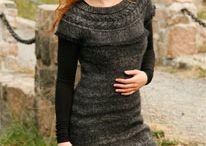 Stricken Kleid
