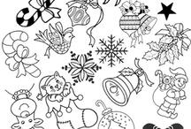 зимние дизайны