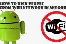 How to kick people from Wi-Fi network in Android