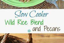 menu - slow cooker