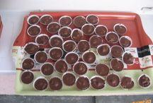 cukroví, nepečené dorty