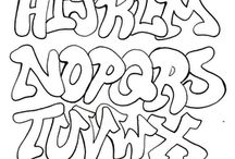Graffiti alfabeto / Disegni