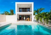 Beautiful Turks & Caicos / The beautiful Turks & Caicos islands consist of over 40 islands and cays, eight of which are uninhabited. The islands are located southeast of Miami, Florida and just below the Bahamas chain to the east of Cuba.