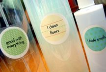 Cleaning diy products/methods / by Laura Carmody