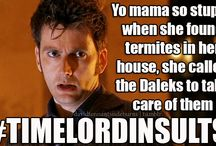 Time Lord Insults
