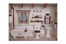 Banheiro com namoradeira