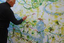 Painting Idols - John Olsen