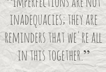 Loving Imperfection
