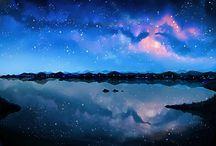 stars sky space