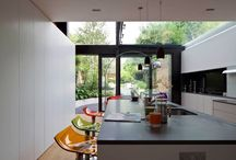 Tredegar Square - Mikhail Riches / Contemporary Extension and Reconfiguration of Grade II Listed terraced family home in London by Mikhail Riches.