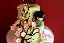 Oriental Cake Designs