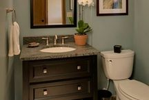 Bathroom ideas / by Sharon Cox Desjarlais