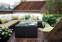 Urban Garden / Urban City Garden & Terrace Idea