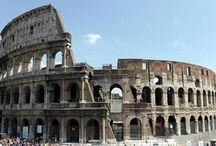 """Rom / Vi skal til Rom. Her er gode sider med information og ideer turen til Rom. """"Enkle ting som et godt måltid, eller bare at sidde og iagttage livet omkring sig, bliver til noget særligt i Rom""""."""