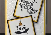 stampin'up happy birthday