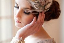 Great Gatsby wedding headpieces