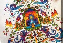 Floresta Encantada - Brasão / Enchanted Forest - Coat of Arms