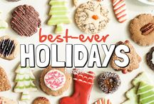 Best-Ever Holidays /  Whether you're hosting a holiday party with friends, a big dinner with family or just need something to bring along to a gathering, we have everything you need to make the best holiday meals, appetizer and desserts.