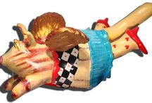 Sculpture / Our fabulous line of hand cast and painted resin sculpture / by Wendy Costa