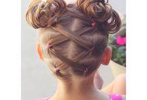 hair design for girls