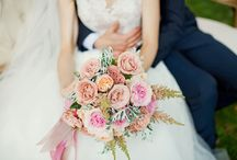 Soft Romantic Pastel Peach Wedding Inspiration