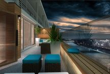 Wellness terrace / The wellness terrace is perfect for intimate evenings and also for meeting with friends.