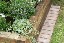 garden beds edging