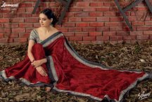Sifaani / Buy the latest  chiffon, georgette designer printed saree  from Laxmipati Sarees.