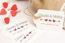 etiquetas boda