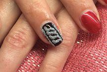 Realizacje Sylwestrowo karnawałowe / Studio paznokci, profesjonalne szkolenia, sprzedaż kosmetyków.