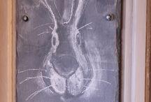 Chalk board / Chalk board ideas