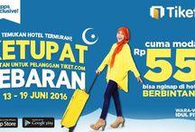 Promo Tiket.com / Beragam promo hotel murah dan tiket pesawat